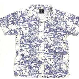 Ralph Lauren Hawaiian Aloha Polo Shirt RARE M